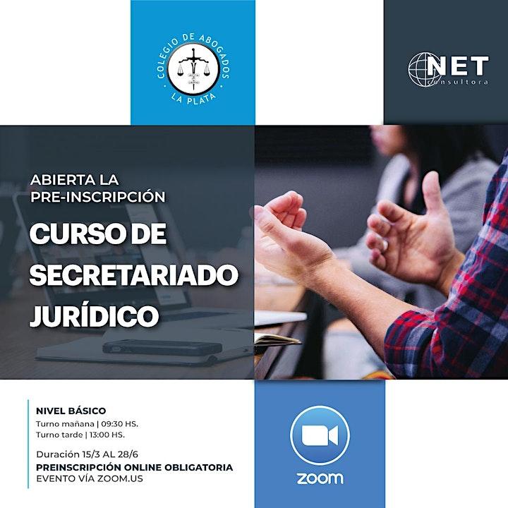 Imagen de Pre-inscripción Curso Secretariado Jurídico Nivel Básico 2021