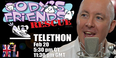 Cody's Friends Telethon with Martyn Lucas tickets