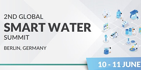 2nd Global Smart Water Summit tickets