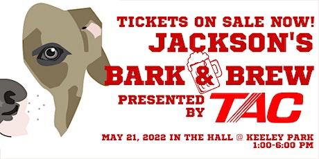Jackson's Bark & Brew tickets