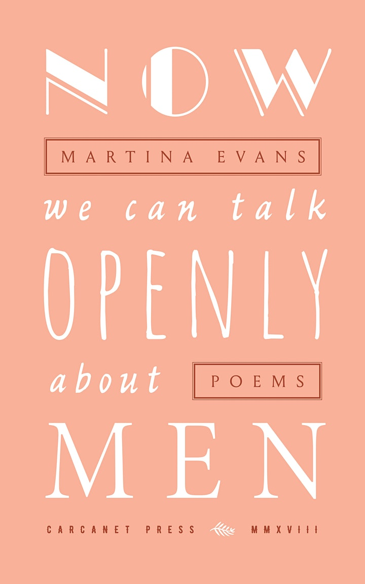 New Words Festival - An Evening with Martina Evans (IWD2021) image