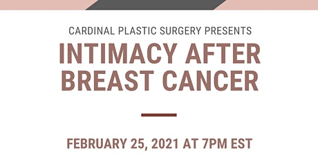 Intimacy After Breast Cancer tickets