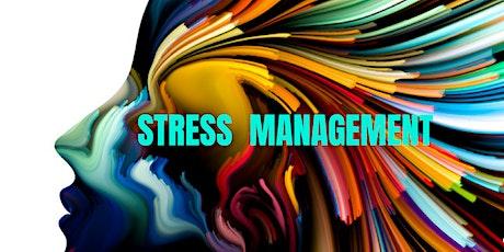 Stress Management webinar tickets