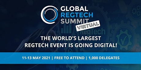 Global RegTech Summit - Virtual 2021 entradas