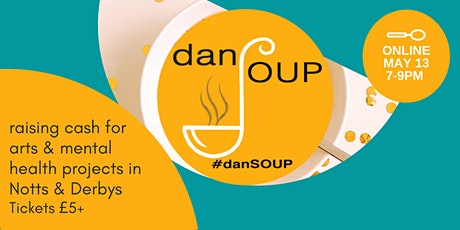 #danSOUP: friendly dragons' den event for arts & mental health projects tickets