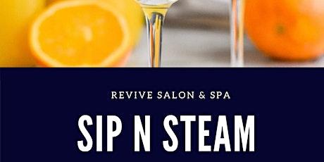 Revive Salon & Spa Sip N Steam tickets