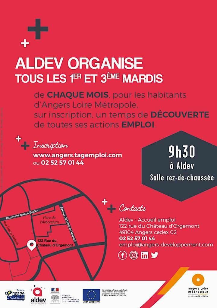 Image pour Réunion d'information sur les actions emploi d'Aldev - Avril/Mai 2021