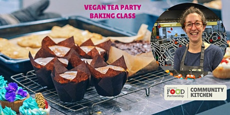 Vegan tea party with Charlotte Fuller (in person) tickets