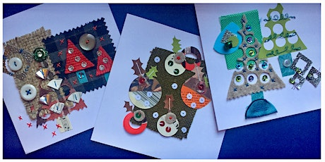 Stitched Mixed Media Christmas Cards with Jessica Grady tickets