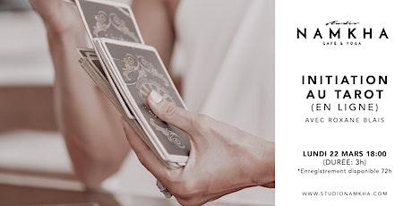 INITIATION AU TAROT (en ligne) tickets