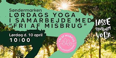 """Lørdags Yoga i samarbejde med """"Fri Af Misbrug"""" tickets"""