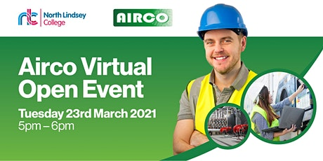 North Lindsey College at Airco Virtual Open Event tickets