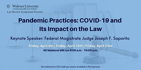 Pandemic Practices: COVID-19 and Its Impact on the Law tickets