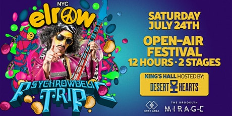elrow NYC: Psychrowdelic Trip | Open Air Festival tickets