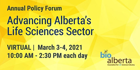 BioAlberta Annual Policy Forum tickets