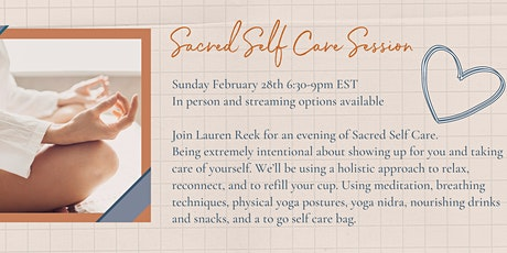 Sacred Self Care Session - A holistic approach tickets
