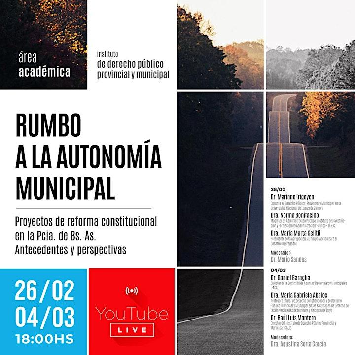 Imagen de Rumbo a la autonomía municipal