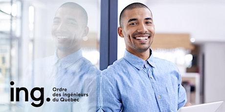 Programme d'accès à la profession OIQ - Étudiants Polytechnique Montréal billets