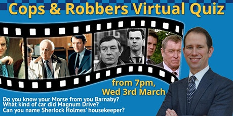 Cops & Robbers Virtual  Quiz tickets