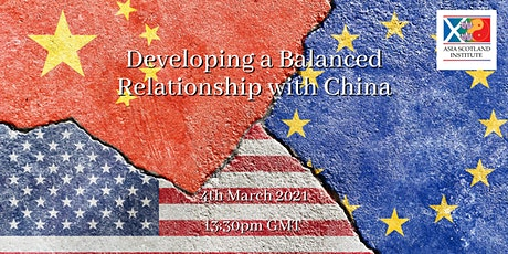 Developing a Balanced Relationship with China tickets