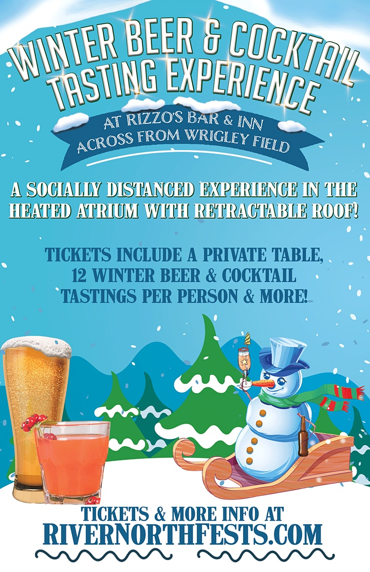 Winter Beer & Cocktail Tasting Experience in Wrigleyville image