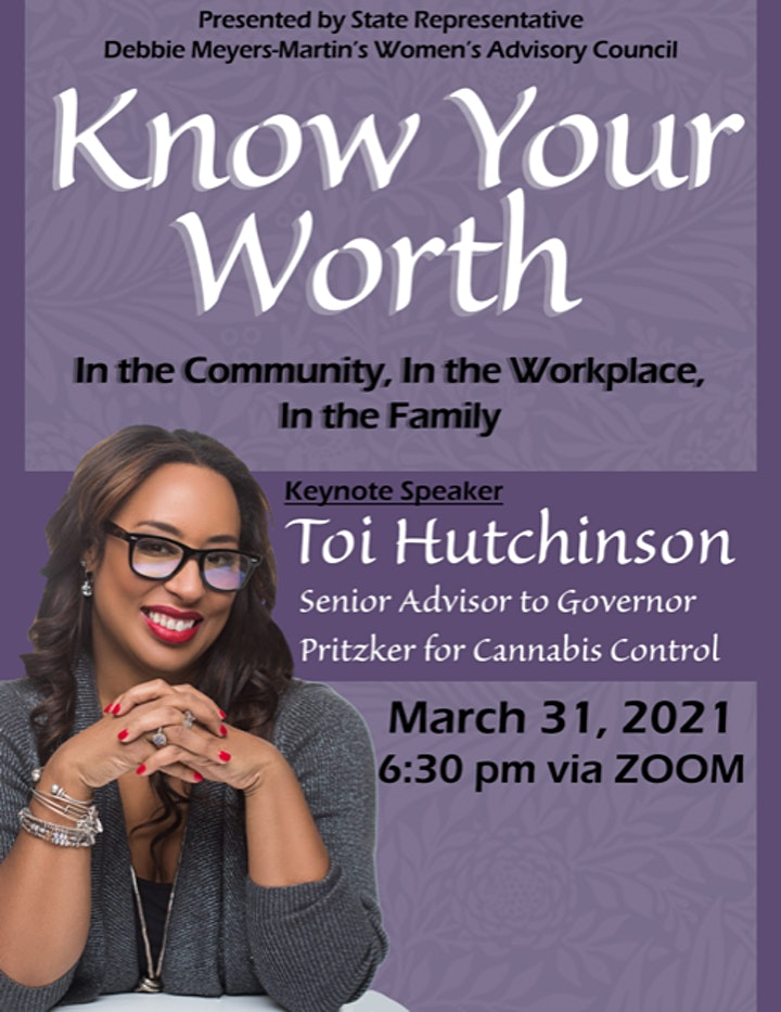 KNOW YOUR WORTH!!! In the COMMUNITY, In the FAMILY, In the WORKPLACE image
