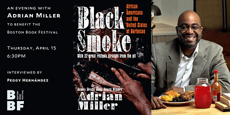 An Evening with Adrian Miller, author of Black Smoke tickets