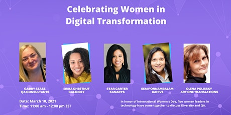 Celebrating Women in Digital Transformation tickets