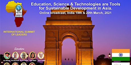 Education, Science & Technologies development in Asia, India 2021 tickets