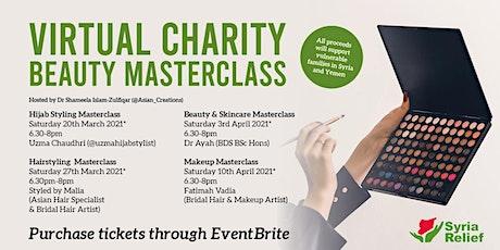 Virtual Beauty Masterclass tickets