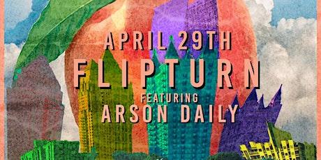 flipturn w/ Arson Daily  at Park Tavern tickets