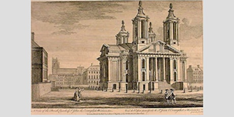 In the Shadow of St John Smith Square - A Talk via Zoom by Rosalind Vincent tickets