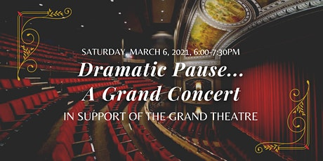 Dramatic Pause... A Grand Concert tickets