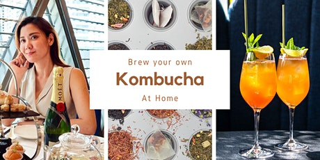 Brew your own Kombucha at home tickets
