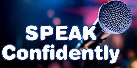 SPEAK - Public Speaking Coaching & Training tickets