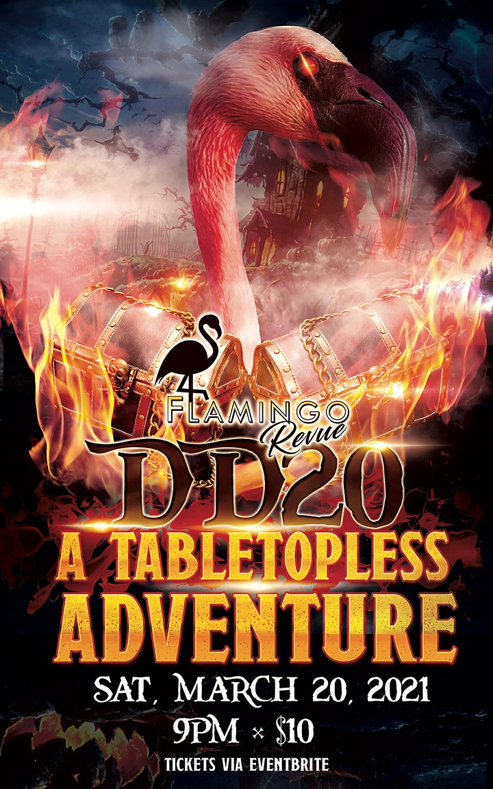 The Flamingo Revue Presents DD20: A Tabletopless Adventure image
