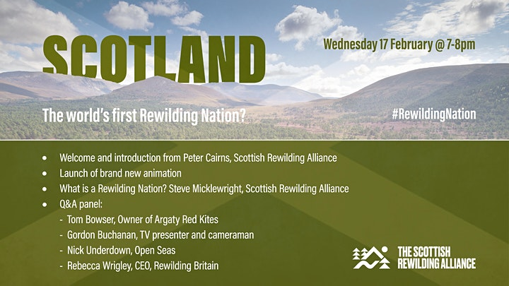 SCOTLAND: The world's first Rewilding Nation? image