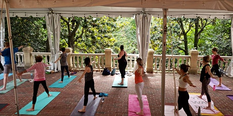 Yoga on the Magnolia Terrace tickets