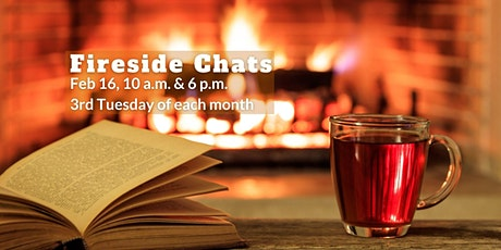 6 p.m. Fireside Chats tickets