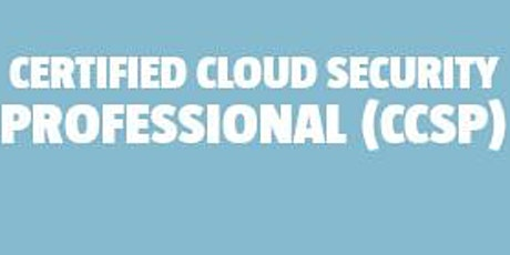 Certified Cloud Security Professional (CCSP) bilhetes