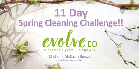 11 Day Spring Clean Challenge tickets