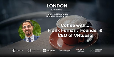 Coffee with...Frank Furnari, Founder & CEO of VRtuoso tickets