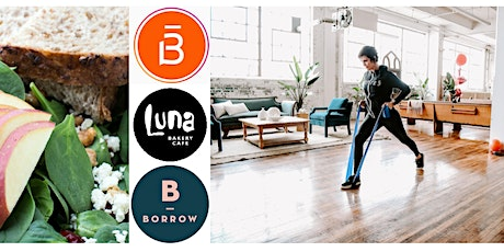 Barre3  + Lunch w/ Luna tickets