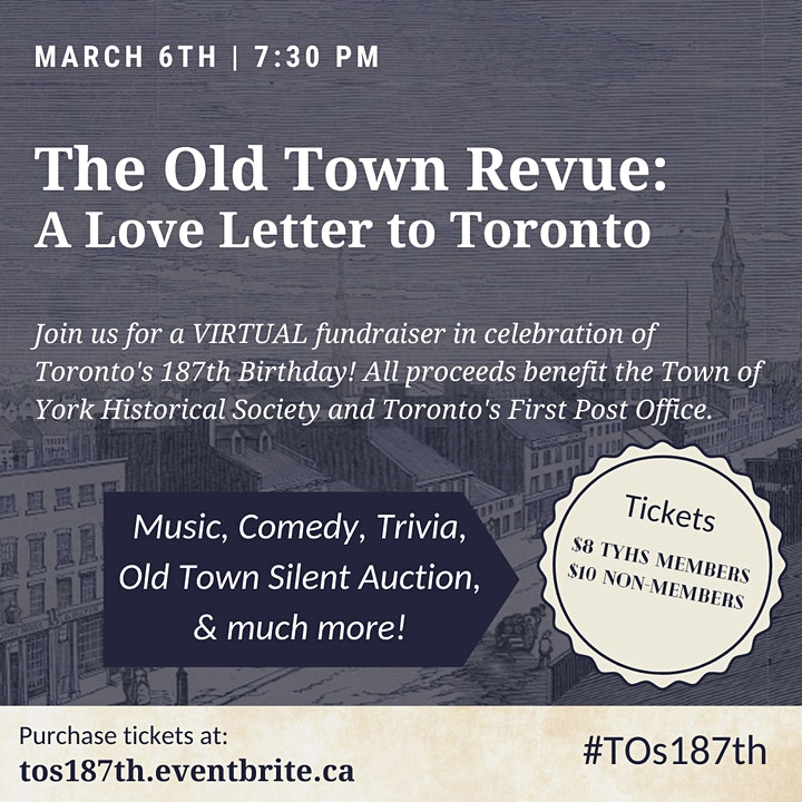 The Old Town Revue: A Love Letter to Toronto image