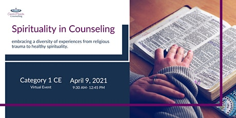 Spirituality in Counseling tickets