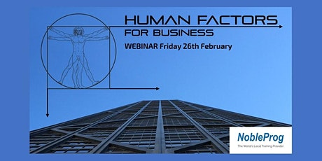 Human Factors for Business tickets