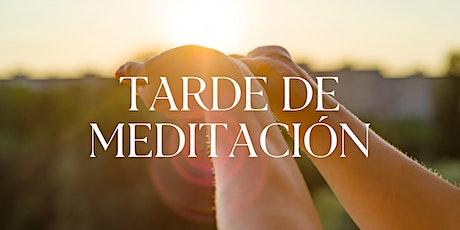 Tarde de Meditación | 4.Mar.21 | 7.30PM entradas