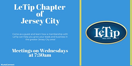LeTip Chapter of Jersey City - Weekly Meeting tickets