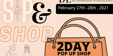 SIP & SHOP POP UP SHOP tickets