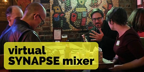 "February Virtual Science-Art-Tech Mixer ""SYNAPSE"" tickets"